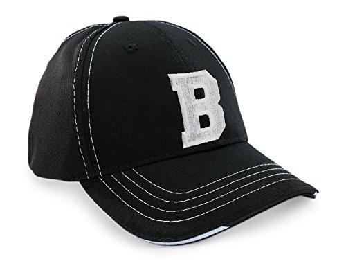 Gorro a Negro Gorra de Unisex Ineinander Z de béisbol Deporte Carta Breathable acceda Mujer Hombre Béisbol b Caps FqR1Iq6