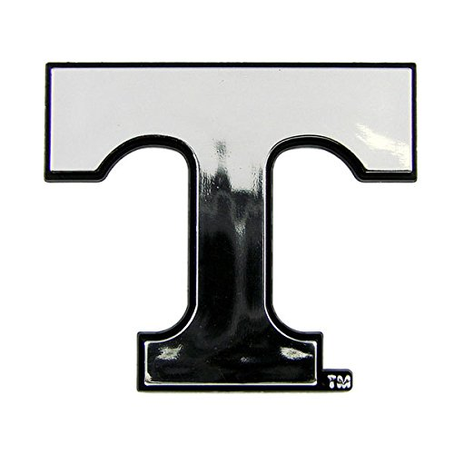 NCAA Tennessee Volunteers Chrome Automobile Emblem -