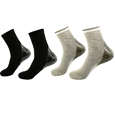 Best Cheap Deal for AYAOQIANG Moisturizing Gel Heel Socks for Dry Hard Cracked Skin from AYAOQIANG - Free 2 Day Shipping Available