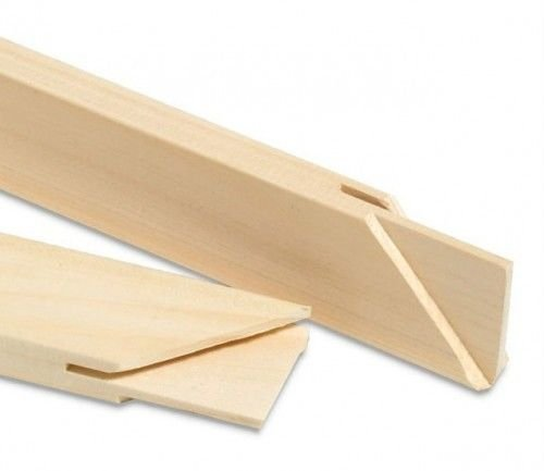 Art Canvas Stretcher Bars/stretcher Strips 12 Inch, (Bundle of 50) by Sunbelt MFG. Co