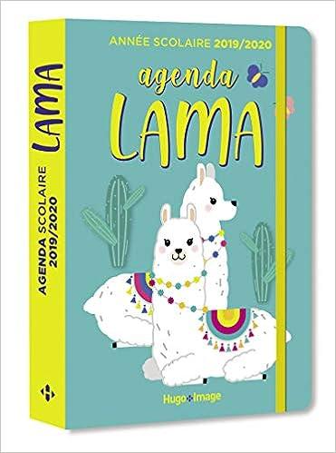 Agenda scolaire lama: 9782755641356: Amazon.com: Books