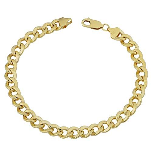 Chelsea Fashionable Men Necklace Exquisite Boy Bracelets Universal Men Pendant Bracelet Gold