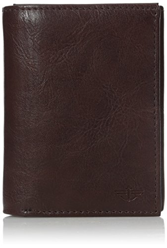 dockers-mens-westchester-trifold-wallet-brown-one-size