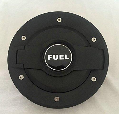ice man aluminum fuel filler door cover gas tank cap for. Black Bedroom Furniture Sets. Home Design Ideas