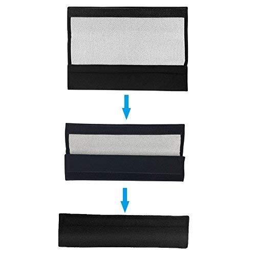 SUNTATOP Seggiolino Auto Cintura Comfort Spalline 1 paio nero