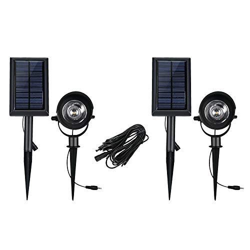 otlight Waterproof Outdoor Landscape Lighting, Security Lights 50 LM for Patio Yard Garden Driveway Pathway Pool Area 2 Pack ()