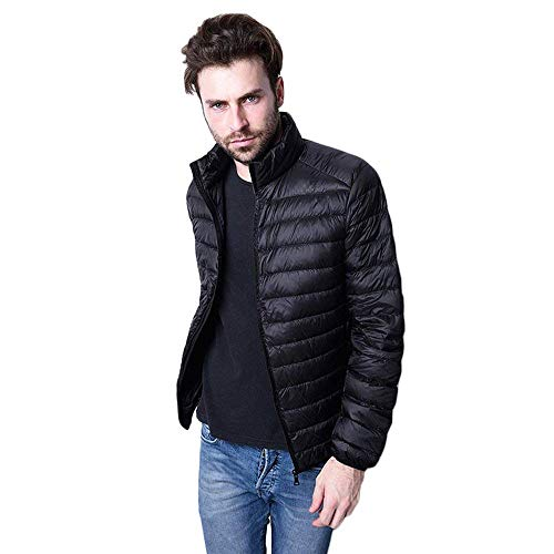 Winter Men Down Schwarz Down for Unique Down Quilted Jacket Sport Hiking Light Jacket Camping Jacket Warm Men Jacket Men Outdoor Jacket Jacket Ultra Jacket Down AwFqXq