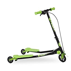 Yvolution Y Fliker A1 Kids Scooter, Green
