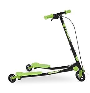Yvolution Y Fliker A1 Kids Scooter, Green