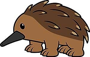 Amazon.com: Cute Simple Zoo Wild Animal Porcupine Cartoon ...