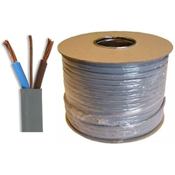 25 Meter Drum 4mm 6242Y Twin and Earth Mains Power Cable 32 Amp