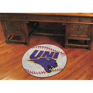 Northern Iowa Baseball Rug - University of Northern Iowa Baseball Rug