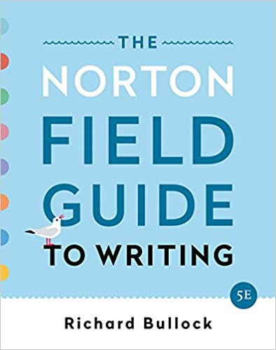 the norton field guide to writing with readings and handbook online free