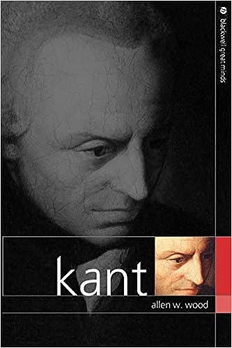 25f839557b Amazon.com  Kant (9780631232827)  Allen W. Wood  Books
