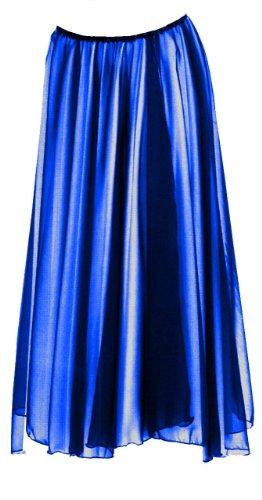 - Eurotard Adult Single Overlay Skirt (39746) -ROYAL -OSFA