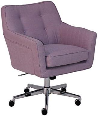 Awesome Serta Style Ashland Home Office Chair Fresh Lilac Twill Fabric Cjindustries Chair Design For Home Cjindustriesco