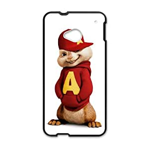 HTC One M7 Shell Phone Case for Classic Theme Alvin and the chipmunks comic Cartoon pattern design GAATC190925