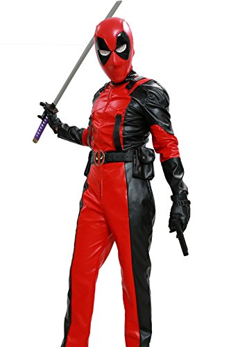 Hotwinds-X-Cosplay-Men-DP-Costume-PU-Leather-Jumpsuit-Zentai-Black-and-Red-Adult