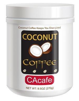 Coconut Coffee Mini Jar #48534 (Cane Sugar Added) (Green Creamer Mini)