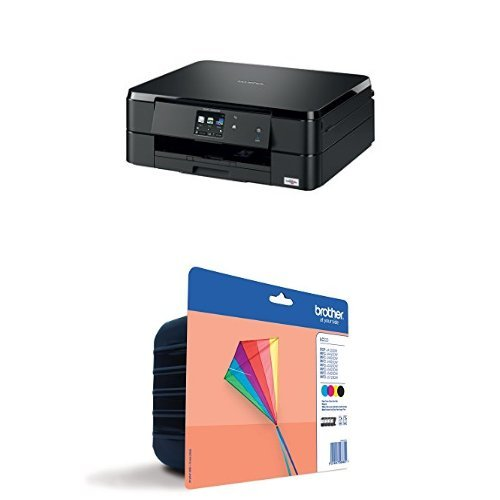 Brother DCPJ562DW - Impresora multifunción de tinta + Cartucho XL ...