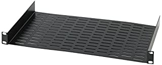 "Chief Raxxess UNS1 Vented Universal Rack Tray Shelf for 19"" Server Racks, with Bottom Slots for Mounting Non-Rack and Half-Rack Equipment (B0007OGTGS) 