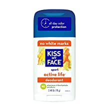 Kiss My Face Active Life Deodorant, Sport, 2.48-Ounce Stick, 1 Count