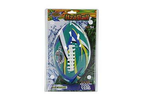 41lqC86 udL - Water Sports ITZABALL 9-Inch Pool Football (colors may vary)