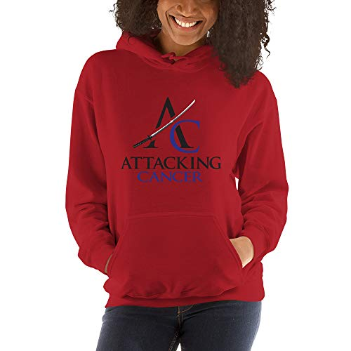 Hooded Sweatshirt (Colon Cancer) Red