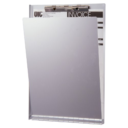 Officemate Aluminum Clipboard with Privacy Cover, Letter Size (83213)
