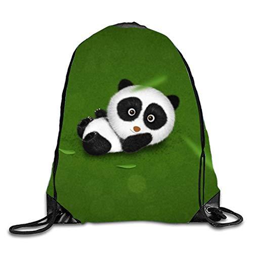 (Drawstring Backpack Baby Panda Wallpapers String Bag Sports Waterproof Sackpack Gymsack Gym Cinch Sack)