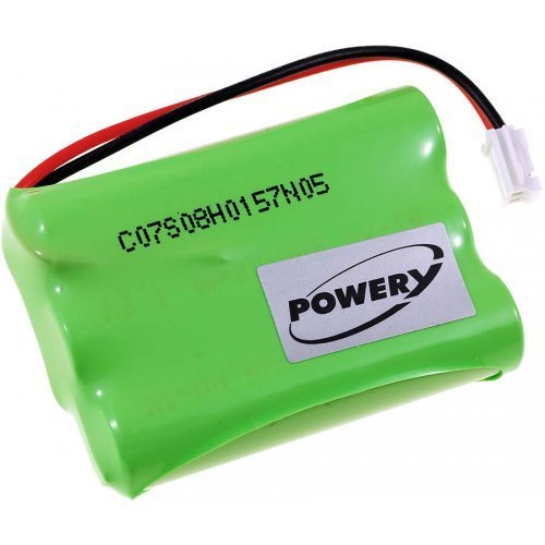 POWERY® Batteria per Audioline Baby Care V100 1.77.AUD.1.2