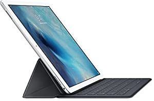 Apple iPad Pro 128GB Silver 9.7-inch Tablet With Apple Smart Keyboard Bundle (Wi-Fi Only)