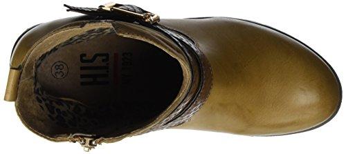 HIS 46212, Zapatillas de Estar por Casa para Mujer Beige