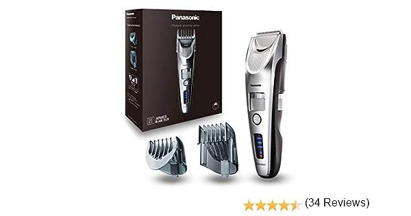 Panasonic ER-SC60 - Barbero profesional, color plata: Amazon.es ...