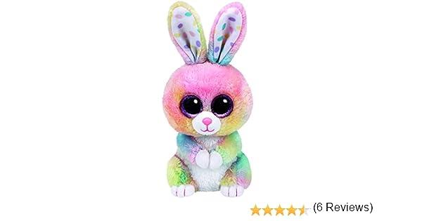 Ty 37212 - Glubschi s Beanie Boo s Bubby Conejo con ojos, 15 cm, multicolor: Amazon.es: Juguetes y juegos