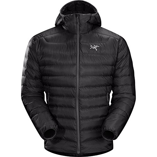 Arc'Teryx Men's Cerium LT Hooded Jacket, Black, Medium