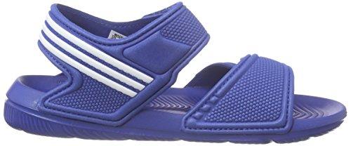 adidas Akwah 9 K, Zapatillas Para Niños Azul (Eqtazu / Ftwbla / Ftwbla)