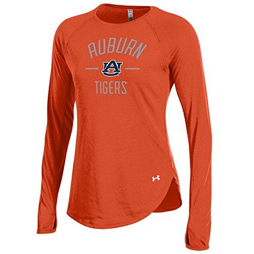 Under Armour NCAA Auburn Tigers Adult Women Women's Long sleeve Threadborne Tee, Small, ()