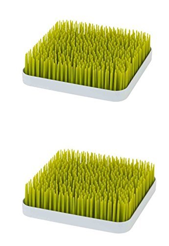 Boon Grass Countertop Drying Rack,Green 2 Pack