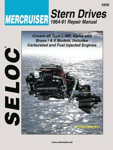 Mercruiser Engine & Stern Drive Repair Manual, VOL I, (Stern Drive Repair)