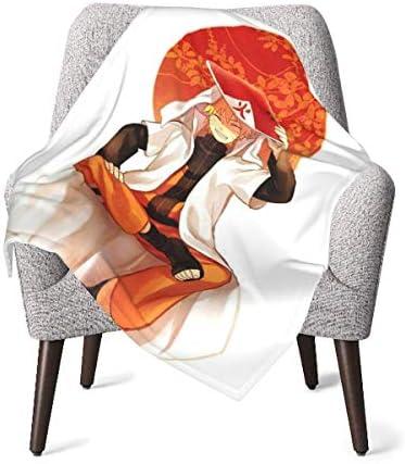 shihuainingxianruandans Couverture bébé Confort, Couverture Chaude Douce Naru-to pour Poussette Nouveau-né bébé Voyage en Plein air