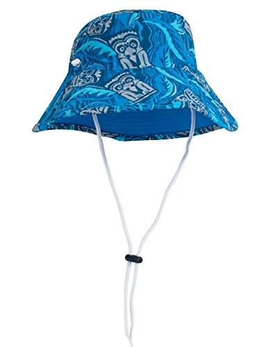 Kid's UPF 50+ Bucket Hat made our list of camping safety tips for families who RV and tent camp