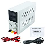 Variable DC Power Supply 0-30V/0-10A Adjustable DC Switching Power Supply with Alligator Leads Canada Power Cord for lab Equipment Repair