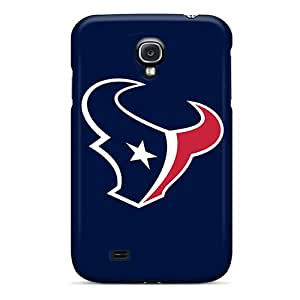 Premium Agk6538ZsyO Case With Scratch-resistant/ Houston Texans 4 Case Cover For Galaxy S4