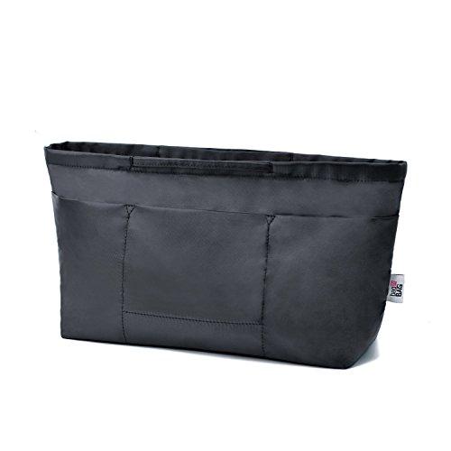 bag in bag Handbag Wallet Purse Insert Organizer Luxury Package Anti-theft Bag for Women fit Neverful L, Black