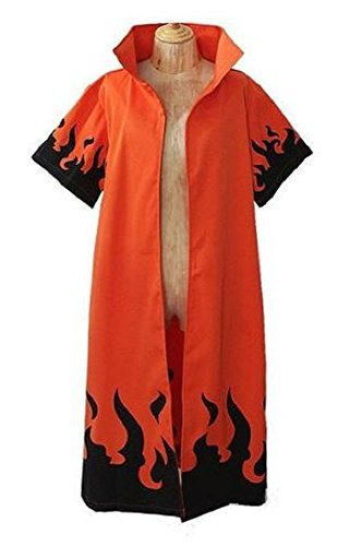 Topbill Naruto Uzumaki Naruto 6th Hokage Cosplay Costume Halloween Clothing S-XXL (XL(174-178CM))