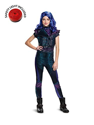 Descendants Mal Classic Costume Kit with Safety Light - Kids S