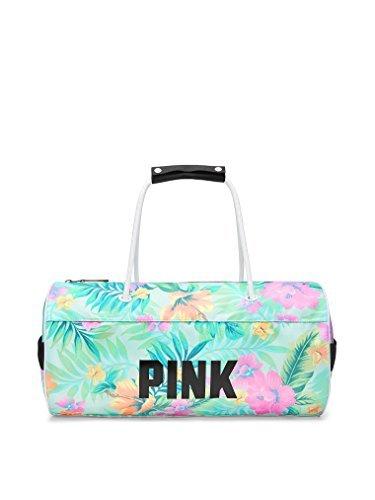Victoria's Secret PINK Varsity Mini Duffle 17'' Gym Bag, Tropical