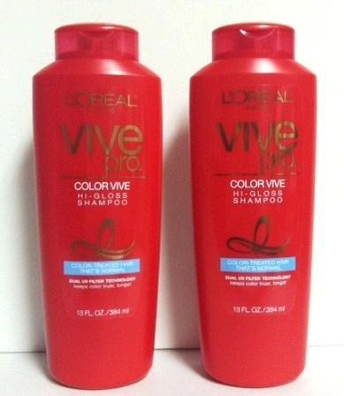 Pro Glossy Volume Conditioner (Vive Pro Color Vive Hi-gloss Shampoo 13 Oz. For Women, 2 Pack)