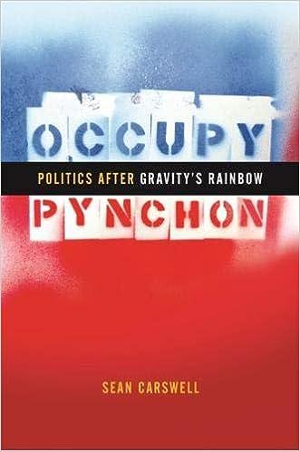 Amazon.com: Occupy Pynchon: Politics after Gravity's Rainbow ...